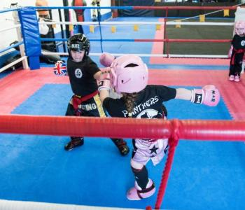 Lil' Panthers Kickboxing 3+