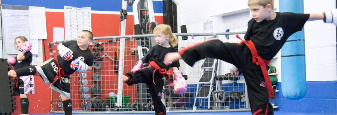 Lil' Panthers Kickboxing (Age 3+)